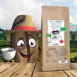 Zrnková káva Brazil Santos Exclusive