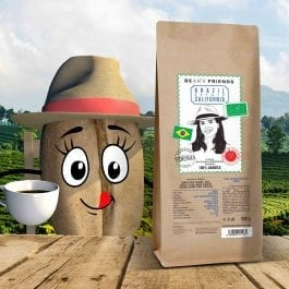 Zrnková káva Brazil Estate California
