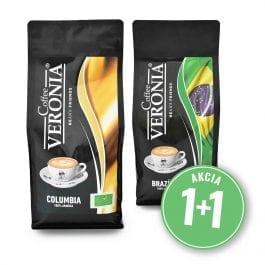 Zrnková káva Kolumbia + Brazília 2 kg