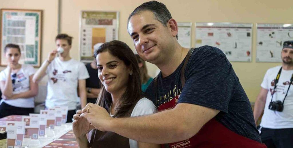 Manželia z kávovníkovej farmy v Brazílii