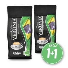 Zrnková káva Brazília + Brazília 2 kg