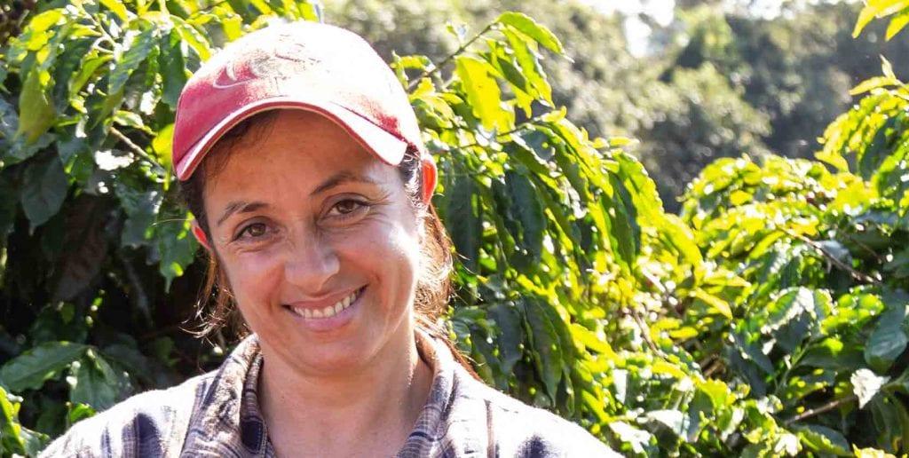 Farmárka Eloir z Brazílie