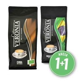Zrnková káva Kuba + Brazília 2 kg