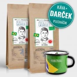 Zrnková káva Brazil Microlot Sitio Sonho Meu 2 kg + darček