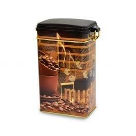 Plechová dóza na kávu 250g